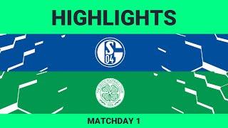 Schalke 04 vs Celtic FC| Highlights Matchday 1 eFootball.Pro 2019-2020
