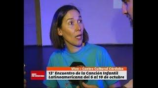 Encuentro de la Canción Infantil Latinoamericana en el Centro Cultural Córdoba