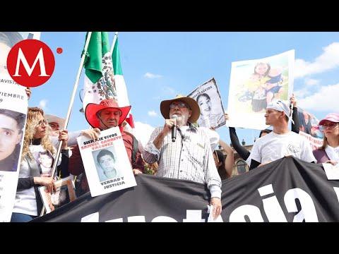 Caminata por la Verdad, Paz y Justicia llega al Zócalo