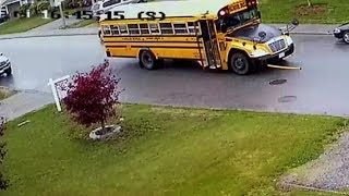 WARNING: 7-year-old hit by school bus in Abbotsford, B.C.