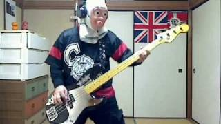 IRON MAIDEN TRANSYLVANIA BASS COVER