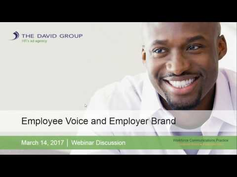 Employee Voice and Employer Brand