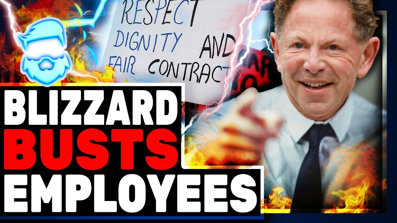 Blizzard DEMOLISHES Employee Uprising In 12 Hours..Stock Continues To Drop