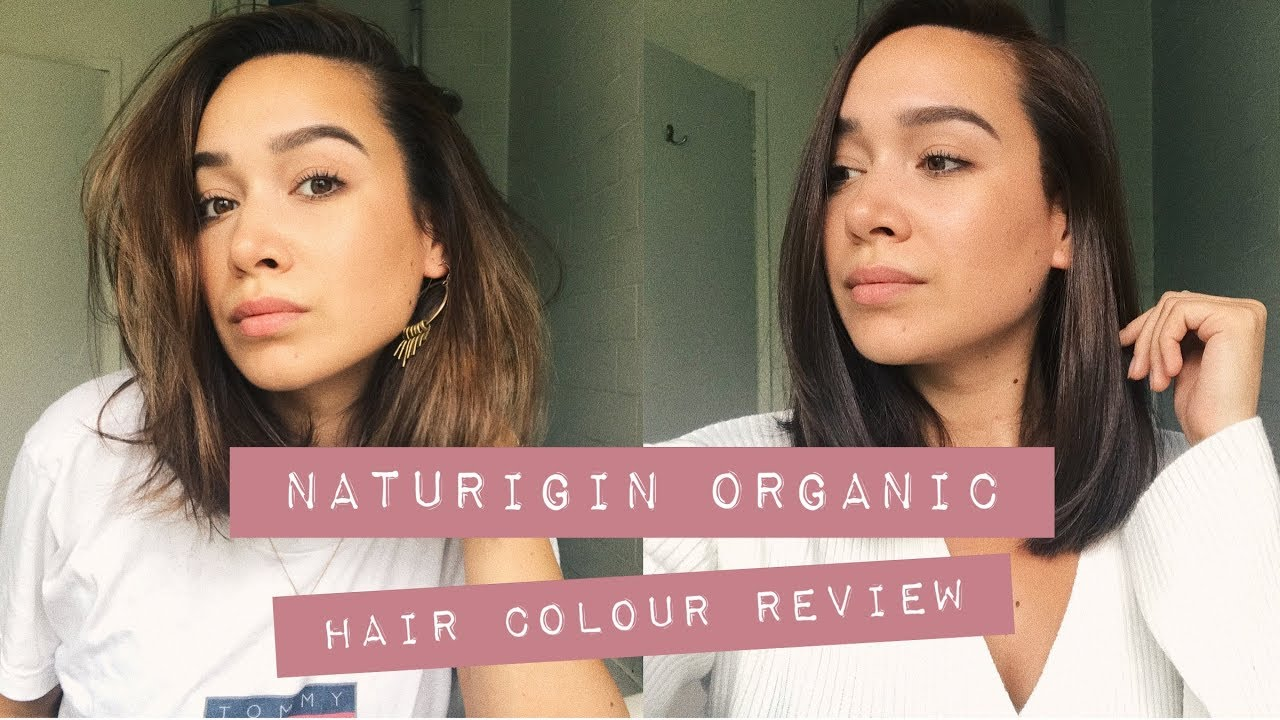 Naturigin Organic Hair Colour Review | By Noelle - YouTube