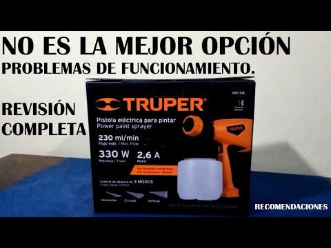 Pistola Eléctrica Para Pintar TRUPER | PIPI-33E | Revisión Completa