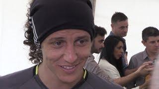 Marcos Alonso David Luiz amp Willian Interviews Ahead Of FA Cup Final