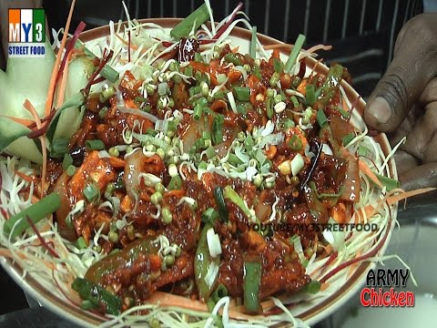 ARMY CHICKEN | HOTELS IN INDIA | INDIAN STREET FOOD street food