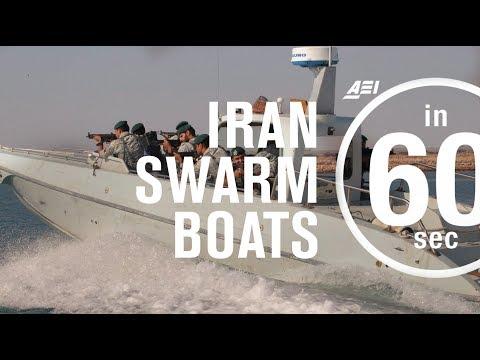 Iran's swarm boat tactics | IN 60 SECONDS