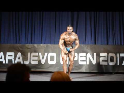 Ognjen Banović - Sarajevo Open 2017 - Bodybuilding +100kg