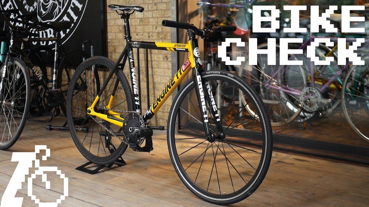 Engine 11 Sprinter | Fixed Gear Bike Check - YouTube