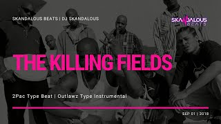 2Pac - The Killing Fields (Instrumental Remake | DJ Skandalous Beats)