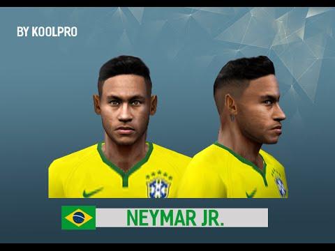 descargar face de neymar pes 6