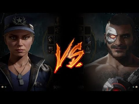 Mortal Kombat 11 - Sonya Vs. Kano (VERY HARD)