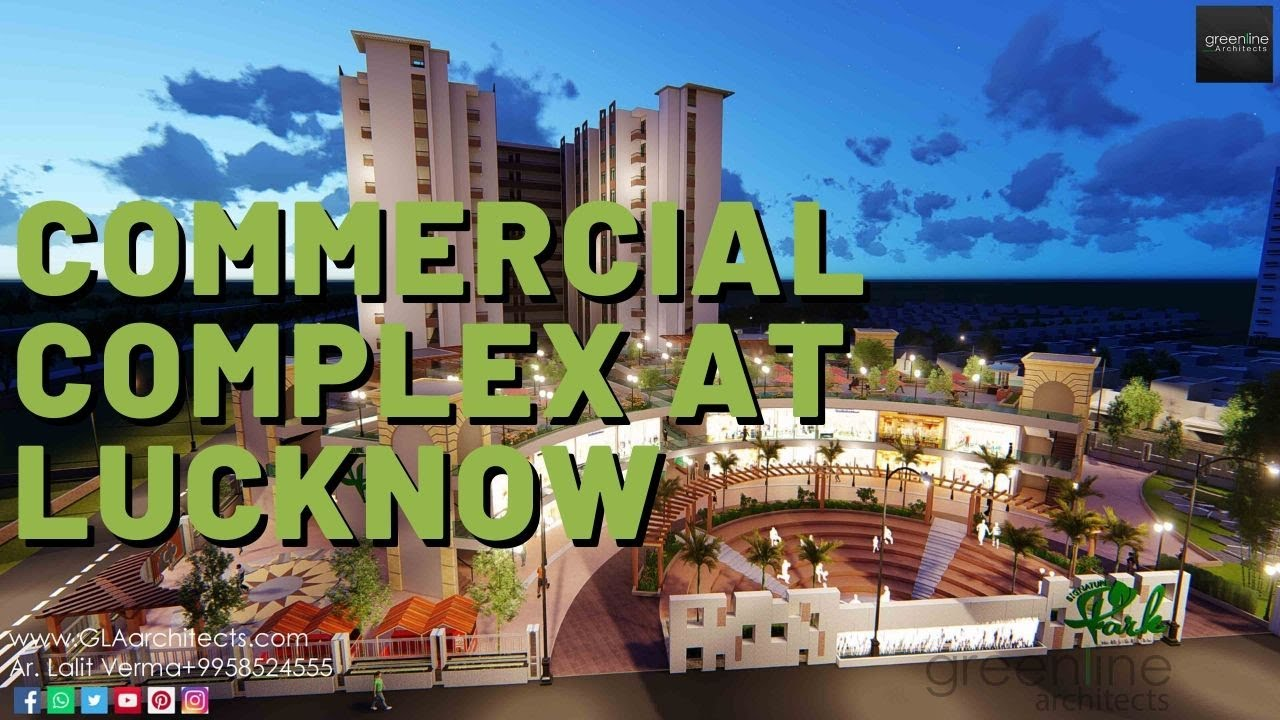 SIGNATURE PARK | Commercial Building Video Walk through | Architect in Lucknow