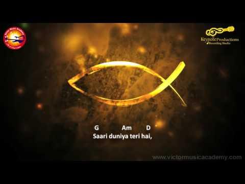 Shukriya Tera (Kya De Sakta Hu) Karoke Lyrics Music Track Victor Benjamin