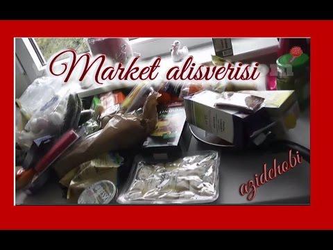Market alisverisi Gida ;