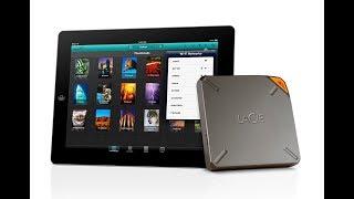 Lacie Fuel 2TB wireless storage for iOS devices
