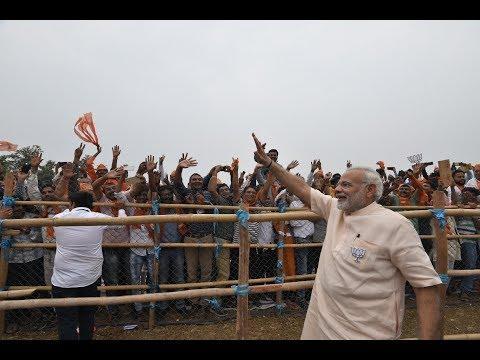 PM Modi addresses Public Meeting in Dharampur, Gujarat: 04.12.2017