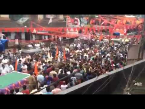 Sreekrishna jayanthi attacked by CPIM in Kakkayangadu (kannur)