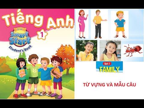 [TIẾNG ANH LỚP 1 - TỪ VỰNG VÀ MẪU CÂU] Unit 1: Family | I-Learn Smart Started 1