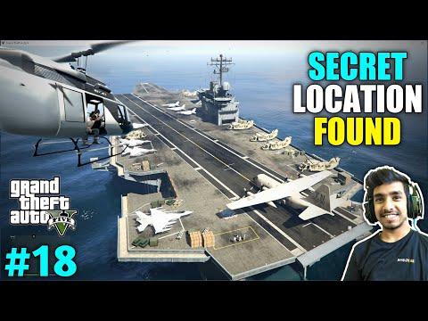 I FOUND TOP SECRET LOCATION   GTA V GAMEPLAY #18