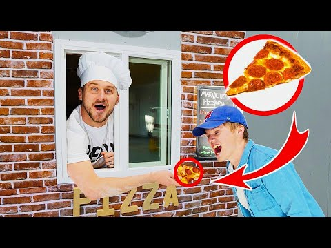 DRIVE THRU PIZZA SHOP IN OUR WAREHOUSE!