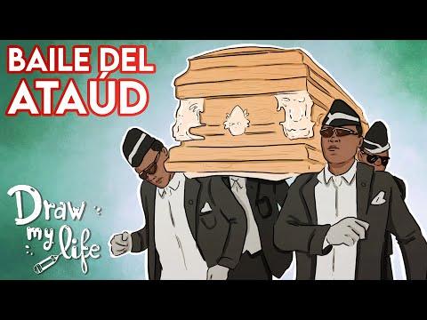 MEME BAILE del ATAÚD y su ORIGEN   Draw My Life
