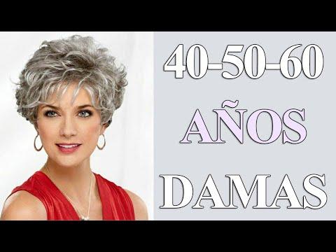 Cortes De Cabello Ondulado Para Damas 40 50 60 Años Corte Pelo Rizado Corto Youtube
