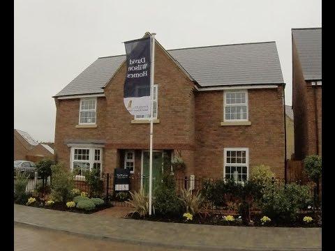 David Wilson Homes - The Winstone @ Brooklands, Milton Keynes  By Showhomesonline