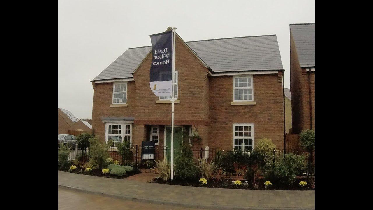David Wilson Homes The Winstone Brooklands Milton Keynes By Showhomesonline Youtube