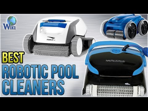 10 Best Robotic Pool Cleaners 2018