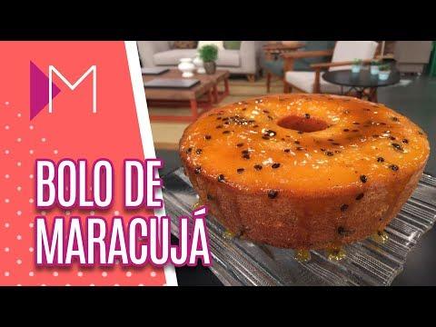 Bolo de maracuja - Mulheres (31/08/2018)