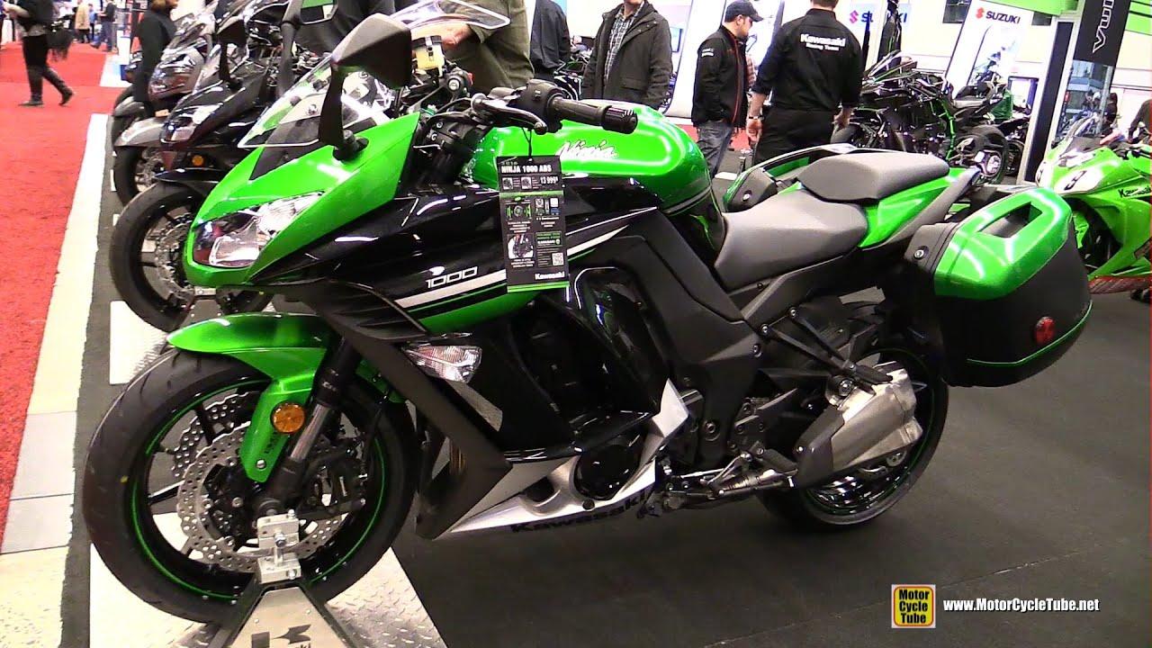 2016 Kawasaki Ninja 1000 ABS - Walkarond - 2016 Montreal Motorcycle