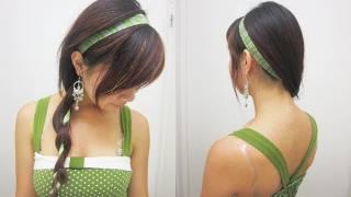 Back-to-School Ribbon Braid