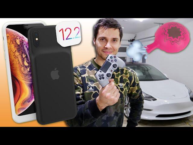 Tesla Fart Mode, Garage Tour, New XS Battery Case Leak & 12.2 Incoming?