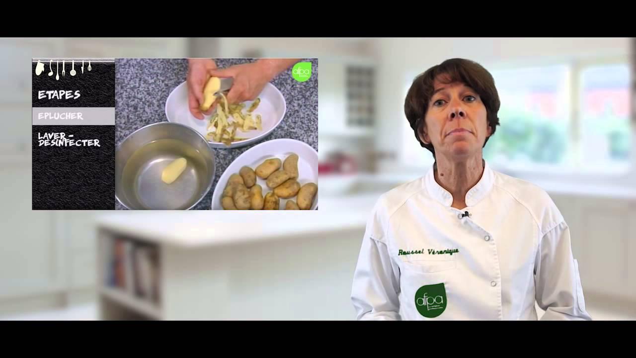 mooc afpa cuisine - introduction semaine 1 - légumes - youtube
