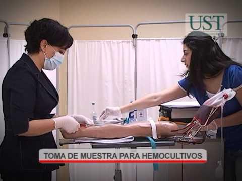 Toma de muestra para Hemocultivo-Universidad Santo Tomas
