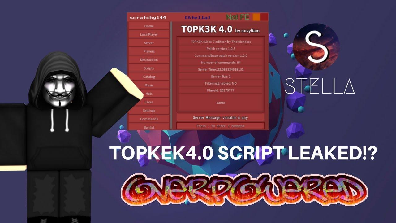 ✅TOPKEK 4.0 LEAKED! (Stella Gui, OP, Free Script!)✅ #1