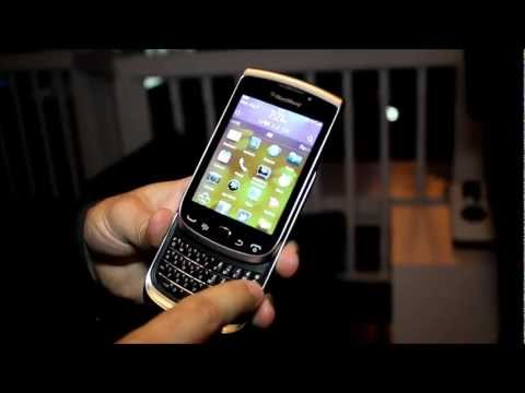 Hands-on with the BlackBerry Torch 9810