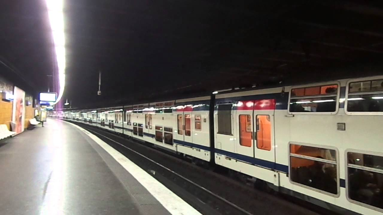 Paris RER A - MI 2N - [NELY] - Nogent sur Marne - YouTube