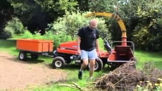 un broyeur de branches maison