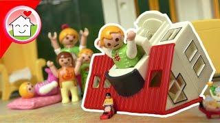 Playmobil Film deutsch - Anna und Lena übernachten bei Oma - Familie Hauser Spielzeug Kinderfilm