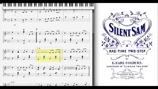 Silent Sam by L. E. Colburn (1903, Ragtime piano)