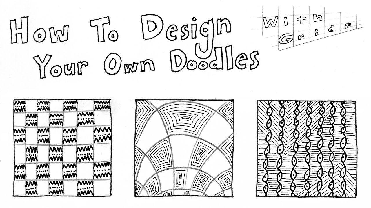 How to Doodle Your Own Zentangle Patterns (Part 3: Using