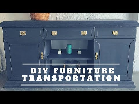 DIY furniture transformation | TV stand | 2019