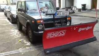 Lada Niva Germany. Снегоуборочная Нива ВАЗ-2121 в Германии.(, 2013-02-22T18:00:28.000Z)