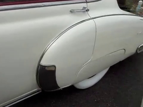 1949 CHEVY STYLELINE DELUXE SEDAN - A WHOLE NEW LOOK