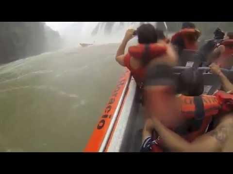 Iguazu Falls from BELOW - Extreme Tourism !!!
