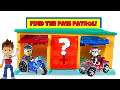 Thumbnail: Paw Patrol Hidden in Little Bus Tayo Garage Match Colors Find Mission Pups Learn Colours