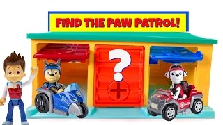 Paw Patrol Hidden in Little Bus Tayo Garage Match Colors Find Mission Pups Learn Colours thumbnail